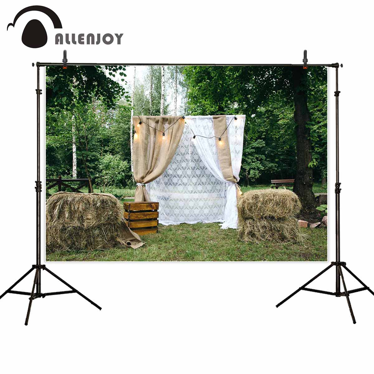 Hot Sale Allenjoy professional photography background wedding arch ...