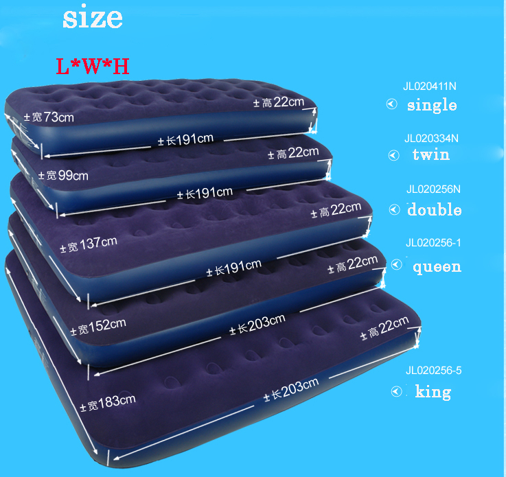 Jilong Camping Mat Series Flocked Beam Air Bed Mattress Inflatable 5 Size To Choose In From Sports Entertainment On Aliexpress