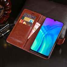 Business Case For Huawei Honor 20i Case Flip Cover For Huawei Honor 20 i PU Leather Phone Case Cover Funda for huawei honor 20i honor 10i case cover nillkin pu leather flip case for huawei honor 20i honor 10i cover flip phone case