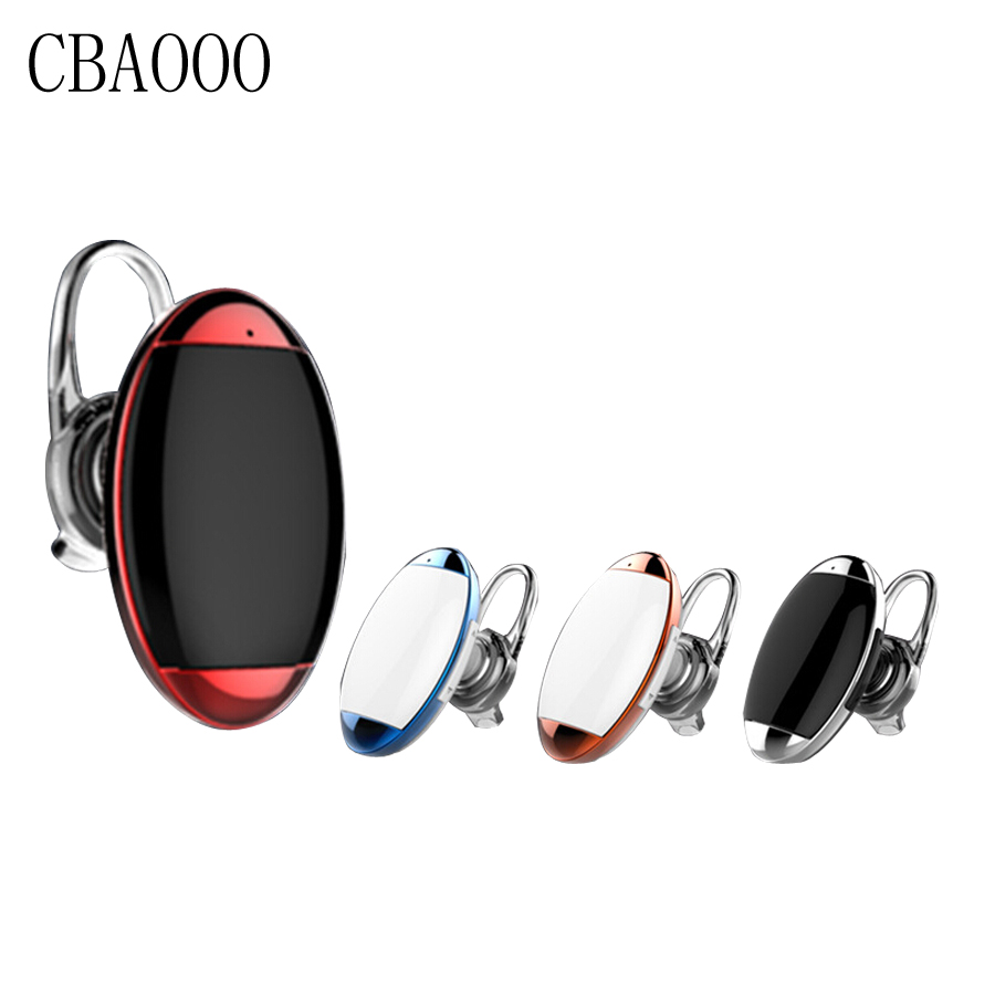 CBAOOO Earphone Calls Wireless Headphone bluetooth mini Invisible Headset 4.1 earbud noise canceling with Mic for iphone android qcy q26 mono earbud business mini headset car calling wireless headphone bluetooth earphone with mic for iphone 6 7 s8 android
