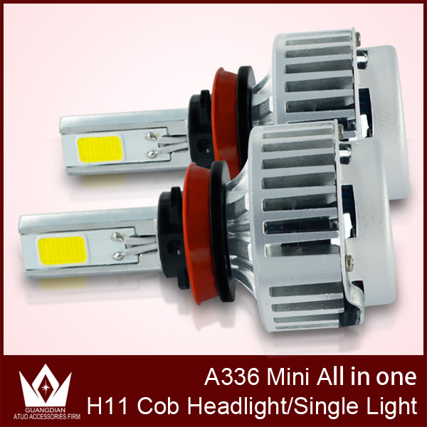 ФОТО Night Lord A336-H8 H9 H11 CAR COB LED Headlight COB fog lights 3300LM 36W 6000K H8 H9 H11 LED Headlight for car fog Light
