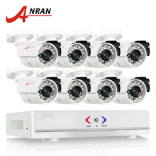ANRAN 8CH Security System 1080N HDMI DVR AHD Set 720P 1800TVL IR Outdoor Camera Home CCTV Video Surveillance Kits Email Alert