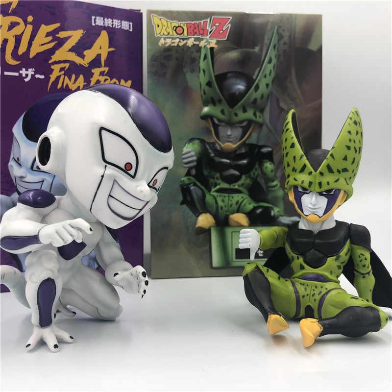 Celular Dragon Ball Z Freeza Q Desprezar o Mau Gosto de Forma Definitiva Sentado 11 DBZ Goku Batalha Figura Coleção Ação PVC cm