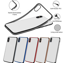 Phone Case For iPhone XS/XR/XS Max Clear Slim Silicone Prote