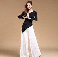 Modal Fusion Stil Moderne Östlichen Orientalischer Bauchtanz-kostüm Tops Hosen für Frauen Bauchtanz Kleidung Bauchtanz Kleidung