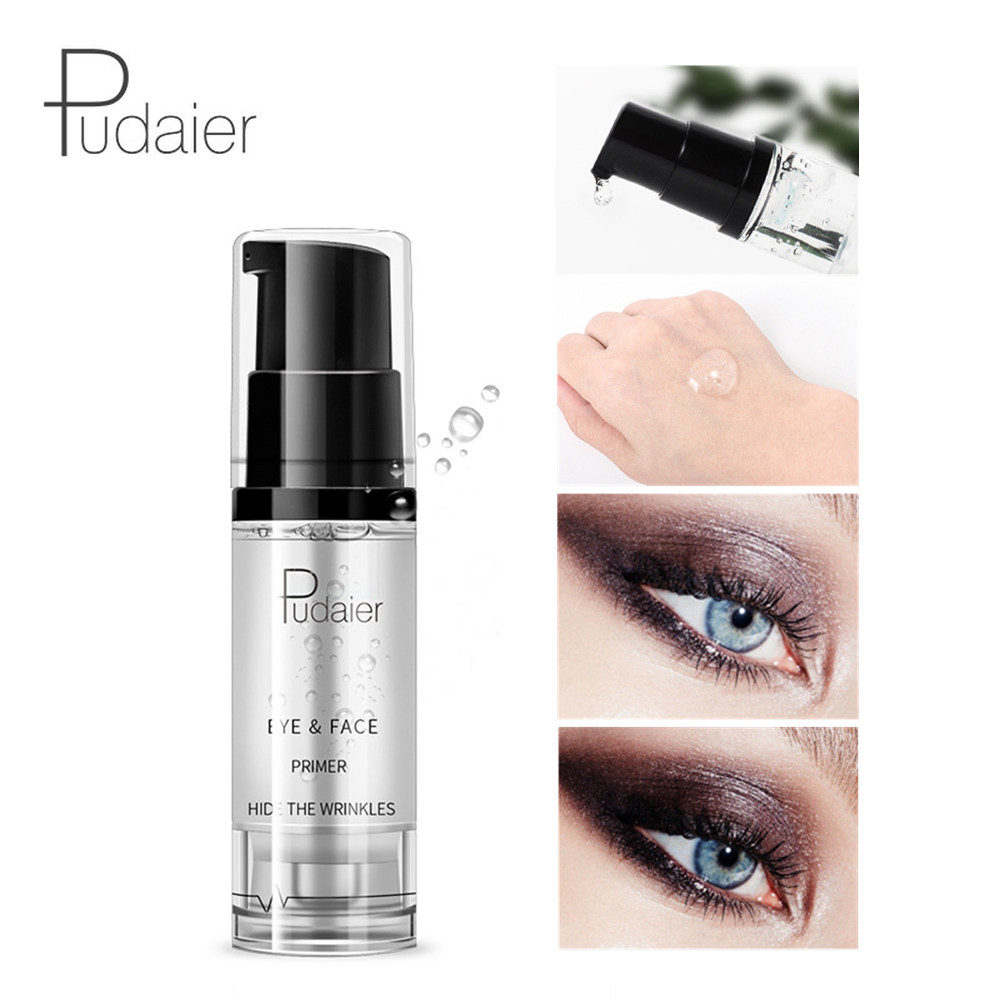 Pudaier 8ml Eye Face Makeup Primer Long Lasting Eyeshadow Primer Professional Natural Moisturizer Base Cream Eye Shadow Enhancer image