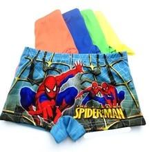 4 pcs/lot And Adolescent Underwear (1-11) Baby Cotton Supermans Panties
