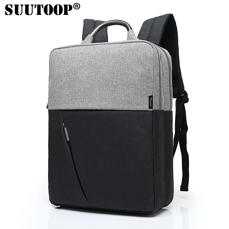 SUUTOOP Men Laptop Backpack 15.6 Inch Waterproof Casual Backpack Unisex New Oxford Business Computer Backpack Travel BagsSUUTOOP Men Laptop Backpack 15.6 Inch Waterproof Casual Backpack Unisex New Oxford Business Computer Backpack Travel Bags