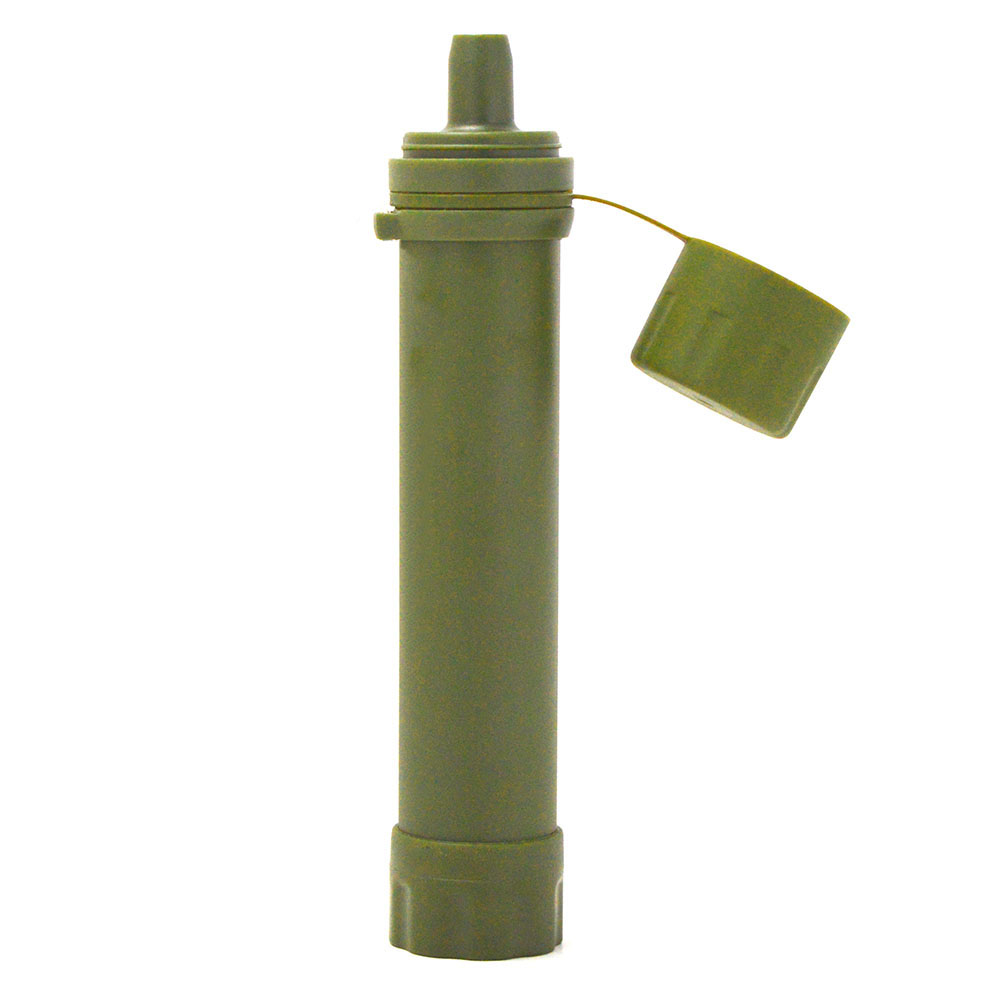 Water Purifier Outdoor Water Filter Straw Water Filtration System for Emergency Preparedness Camping Traveling Backpacking