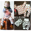 2016 spring baby boy clothing sets kid snata clothing carton clothing sets baby boys clothes baby girl clothes kids funny baby