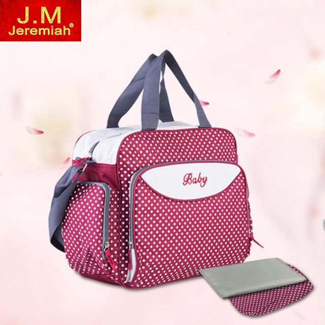 Multifunctional Baby Nappy Bags Waterproof Large Capacity Mommy Bag Changing Bag Floral Style Traveling bag