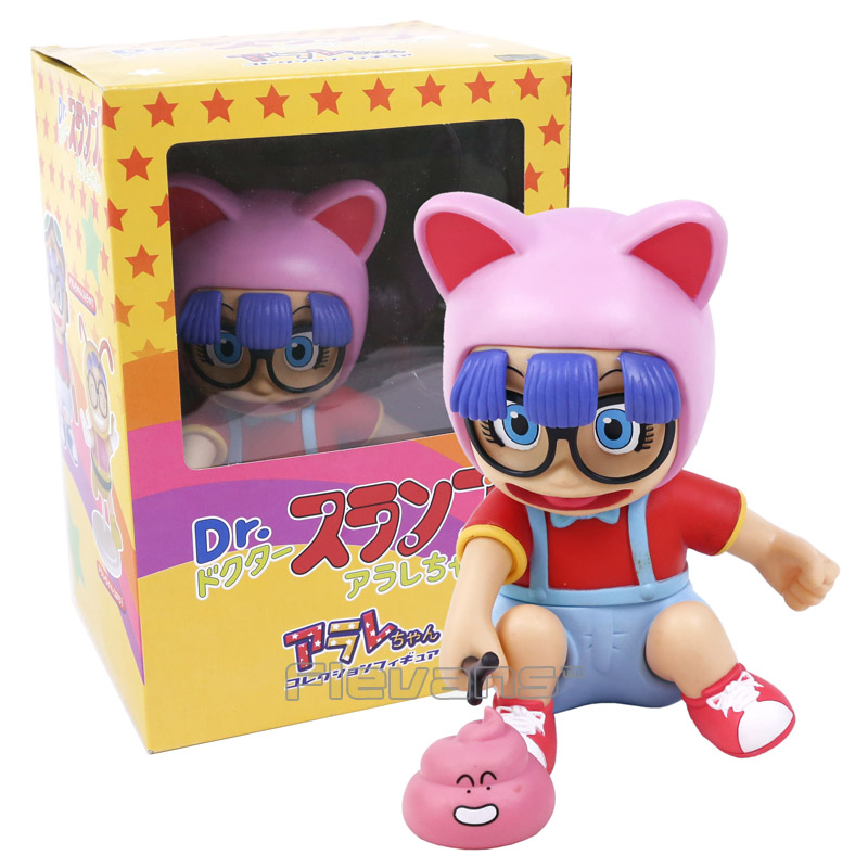 Arale Figure Anime Cartoon Dr. Slump PVC Action Figure Collectible Model Toy Children Kids Gift 6 Types to love ru darkness action figure eve sexy swimsuit cartoon children gifts pvc action figure collectible model toy 23cm kt3201
