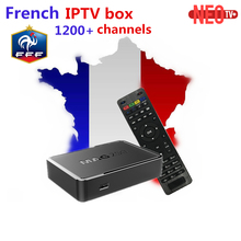 MAG250 IPTV Box Sweden IPTV Server+1 year NEO iptv account Europe iptv French Belguim Arabic MAG 250 Linux system smart tv box(China)