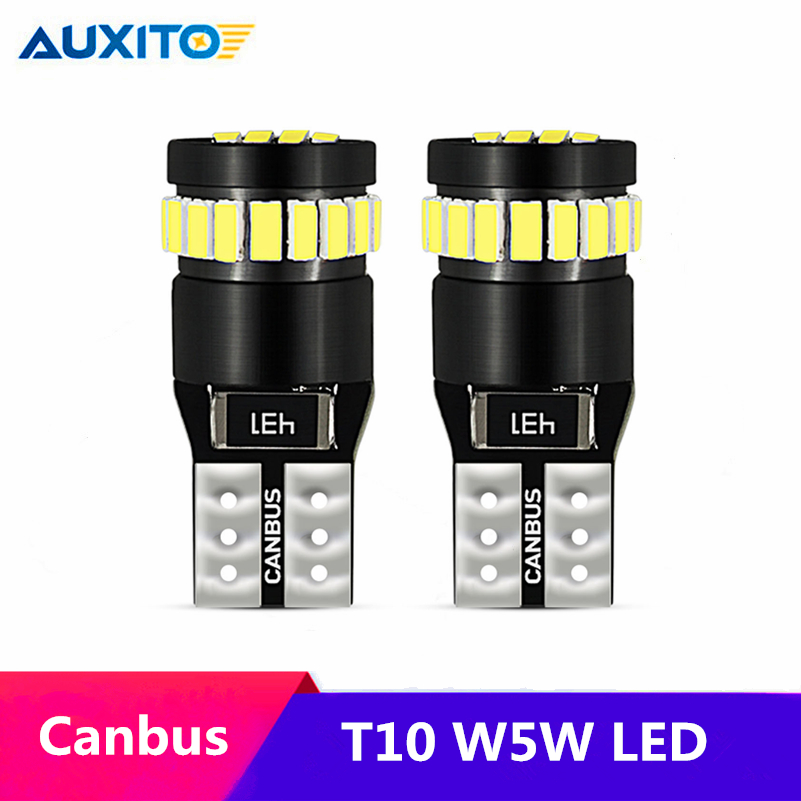 2pcs W5W LED Canbus T10 168 Clearance Parking Lights W5W LED Bulb Lamp For Volkswagen VW Polo Passat B5 B6 CC Golf 4 5 6 7 Jetta