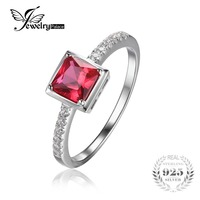 0 8ct Pigeon Blood Ruby Ring Solid 925 Sterling Silver Romantic Flower Classic Ring Brincos Wholesale