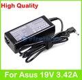 19 В 3.42A 65 Вт AC ноутбук адаптер питания для Asus VivoBook F102B F201 F202 Q200 Q302 S200 S220 U38 X102B X201 X202 зарядное устройство