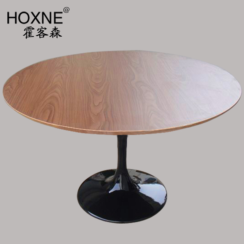 Genial Huo Sen Modern Minimalist Scandinavian Fashion Off A Round Wooden Table  Surface Is Large Tulip Wood Dining Table Multiplayer In Nail Tables From  Furniture ...