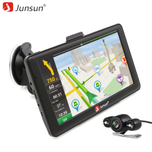 "Junsun 7"" Android Car GPS Navigation Automobile navigator Bluetooth WIFI Navitel/Europe/Russia Map Vehicle gps Capacitive(China)"