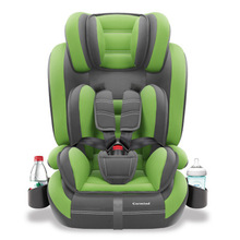 все цены на Children Car Safety Seat Baby Sitting Chair Safety Carseat Isofix Hard Interface Adjustable Sitting and Lying Kids Booster Seat онлайн