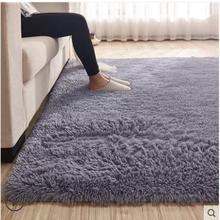 200*300 Rectangle Sheepskin Hairy Carpet Faux Mat Seat Pad Fur Plain Fluffy Soft Area Rug Home Decor