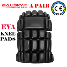 Bauskydd a pair of Eva kneepads for kneel down work pants removable knee protection detachable removable knee pads free shipping