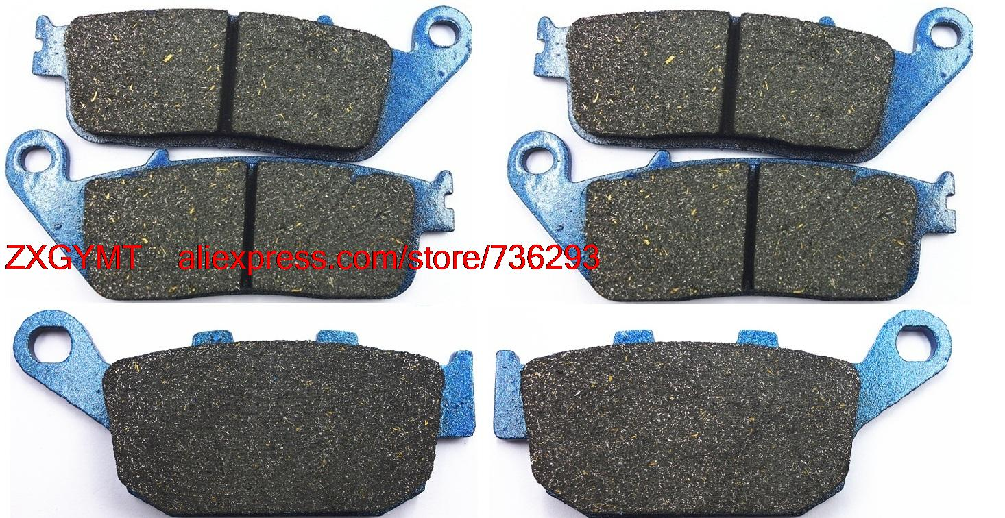 Motorcycle Semi-Metallic Brake Pad Set fit for HONDA CBR650 CBR650F CBR 650 F 2014 & up