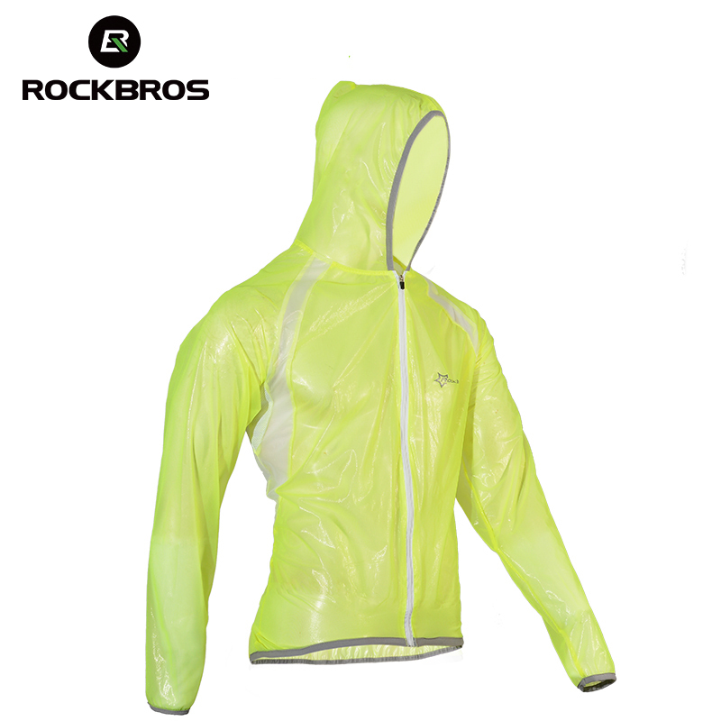 ROCKBROS MTB Cycling Jersey MultiFunction Jacket Rain Waterproof Windproof TPU