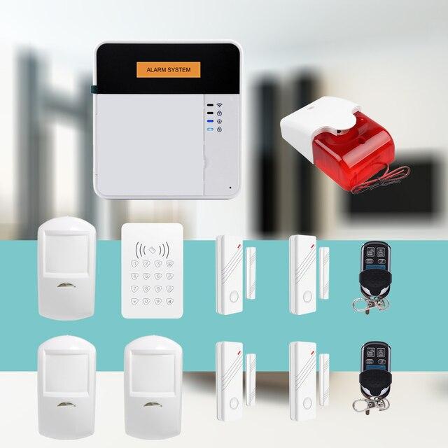 APP Control LCD Keypad Wireless GSM Anti theft Burglar Alarm Kit ...