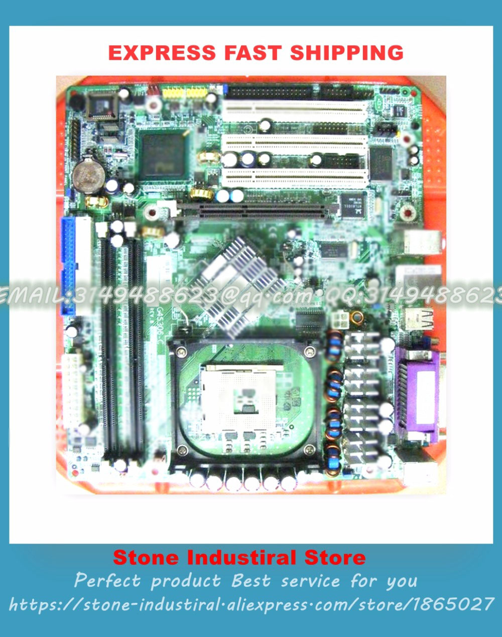G4S306-C industrial game board 865G motherboard supports the full range of 478CPU 100% test  good quality industrial motherboard full length board 9451 2ea 100