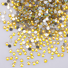 Crystal Glass Rhinestones For Shoes And Bag 3d Nail Art Rhinestones Shaped Non Hotfix Ab Flatback Rhinestone Z125 цена
