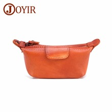 JOYIR Brand Women Genuine Leather Coin Purse Female Change Purse Card Holder Wallet Small Purse Zipper Coin Wallet Women's Bag wallet female coin purse business card holder zipper