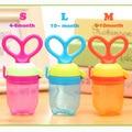 Baby Nipple Fresh Food Feeding Nibbler Safe Baby Supplies Nipple Teat Pacifier Bottles MKA099 PT40