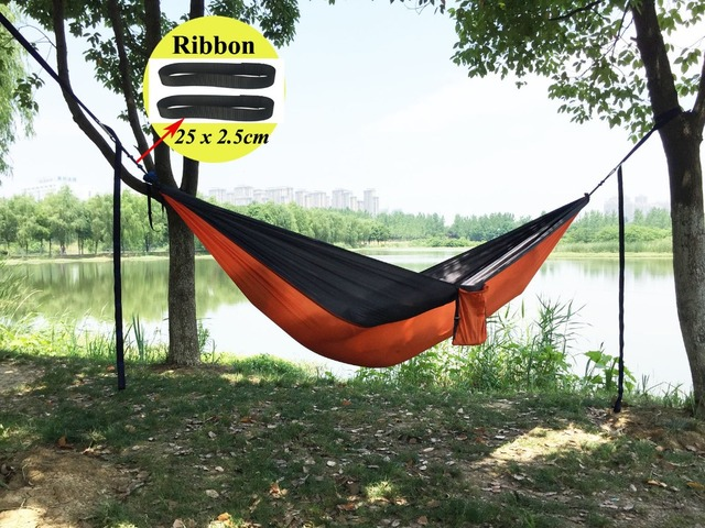 2 people parachute hammock camping survival garden flyknit hunting leisure hamac travel double person hamak of 2 people parachute hammock camping survival garden flyknit hunting      rh   aliexpress