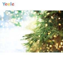 Yeele Christmas Photocall Bokeh Lights Pines Party Photography Backdrops Personalized Photographic Backgrounds For Photo Studio