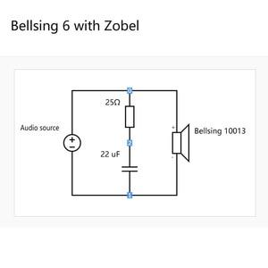 Image 5 - 2PCS Bellsing 10013 Balanced Armature Driver 6 Way BA Full Range Receiver Custom IEM Hearing Aid Speaker
