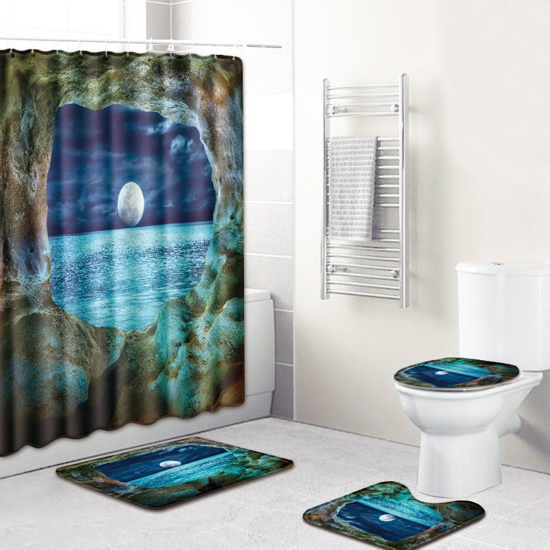 Bath Rug Toilet Cover