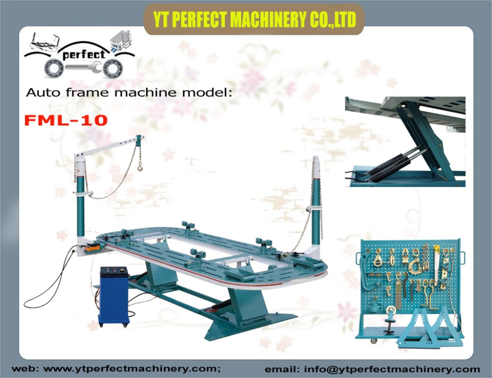 fml 10 car straightening frame machineauto chassis alignment benchcar body straightener equipment