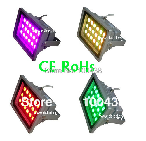 CE,IP65,Waterproof,good quality,54W outdoor RGB LED spotlight,RGB LED wall washer,18X3W RGB 3in1,24VDC,DS-TN-05-54W-RGB ip65 ce good quality high power 36w rgb led wall washer rgb led wash light 12 3w rgb 3in1 24vdc ds t21a 36w rgb 50cm pc