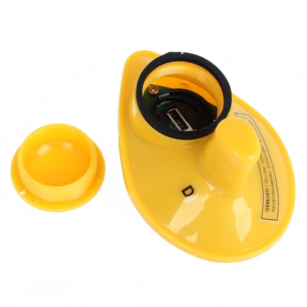 Suerte FFW1108-1 buscador de peces alarma inalámbrica Fishfinder 125kHz 90 grados eco sirena 40 M/130FT echosonda profundidad sonar para la pesca - 4