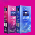 100pcs/lot condoms natural latex ultra thin lubricant large oil slim condom sex products for men sex toys for adults sex shop