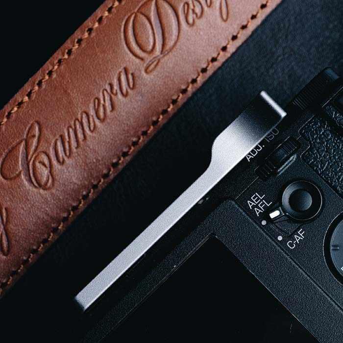 Soporte de pulgar de aluminio profesional, soporte de pulgar de Metal para Ricoh GR GRII GR2, cubierta para zapata