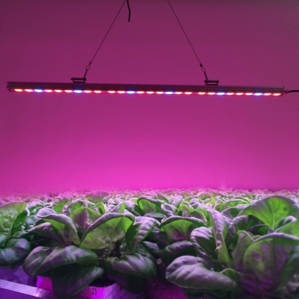 IP65 Su Geçirmez 10 adet / grup Kapalı Topraksız Için 81 W Led Büyümek Lamba Bar Işıkları Sera Bitki Sebze Büyüme Çiçek aydınlatma