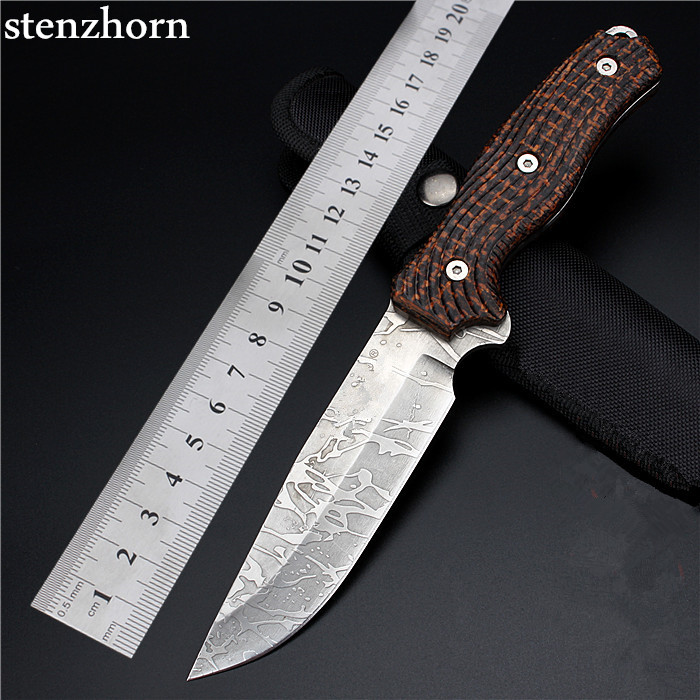Stenzhorn 2017 New Outdoor Field With High Hardness Small Straight Knife For Wilderness Survival The Folding Fruit Diving Cutter  цены
