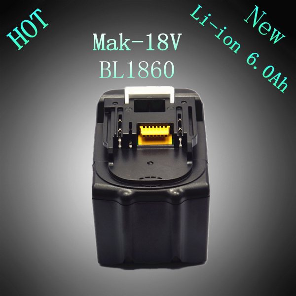 New Lithium Ion 6000mAh Replacement Power Tool Rechargeable Battery for Makita 18V BL1830 LXT400 194205-3 194230-4 BL1840 BL1840 5pcs lithium ion 3000mah replacement rechargeable power tool battery for bosch 36v 2 607 336 003 bat810 bat836 bat840 36 volt