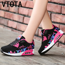 VTOTA Platform Wedge Sneakers Lace-Up Vulcanized Shoes Ladies Casual Breathable New Single Designer zapato de mujer