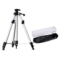 Transon Adjustable Tripod Aluminium Artist Easel with Portable Bag ,Light Weight Metal Easel Suit for Painting & display