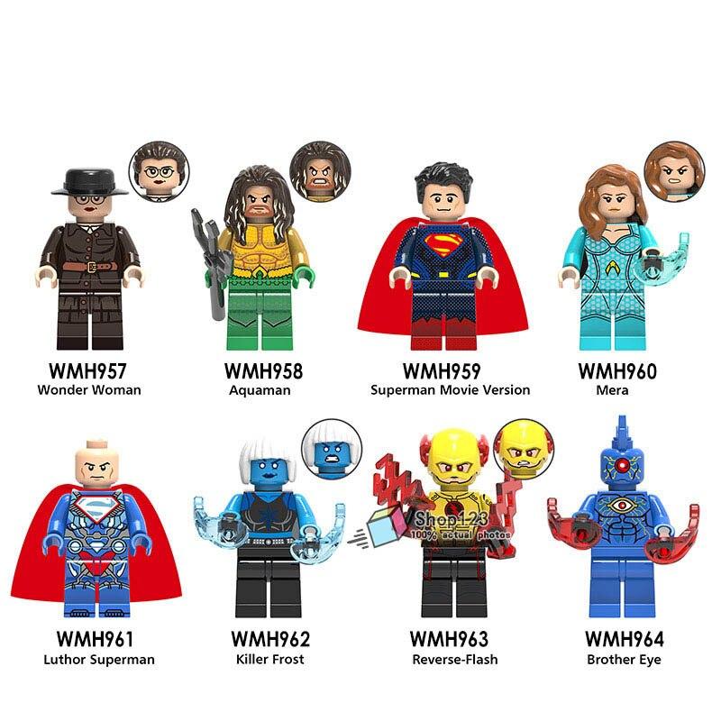 Buy dc marvel legoing super heros aquaman wonder woman flash luthor superman - Flash le super heros ...