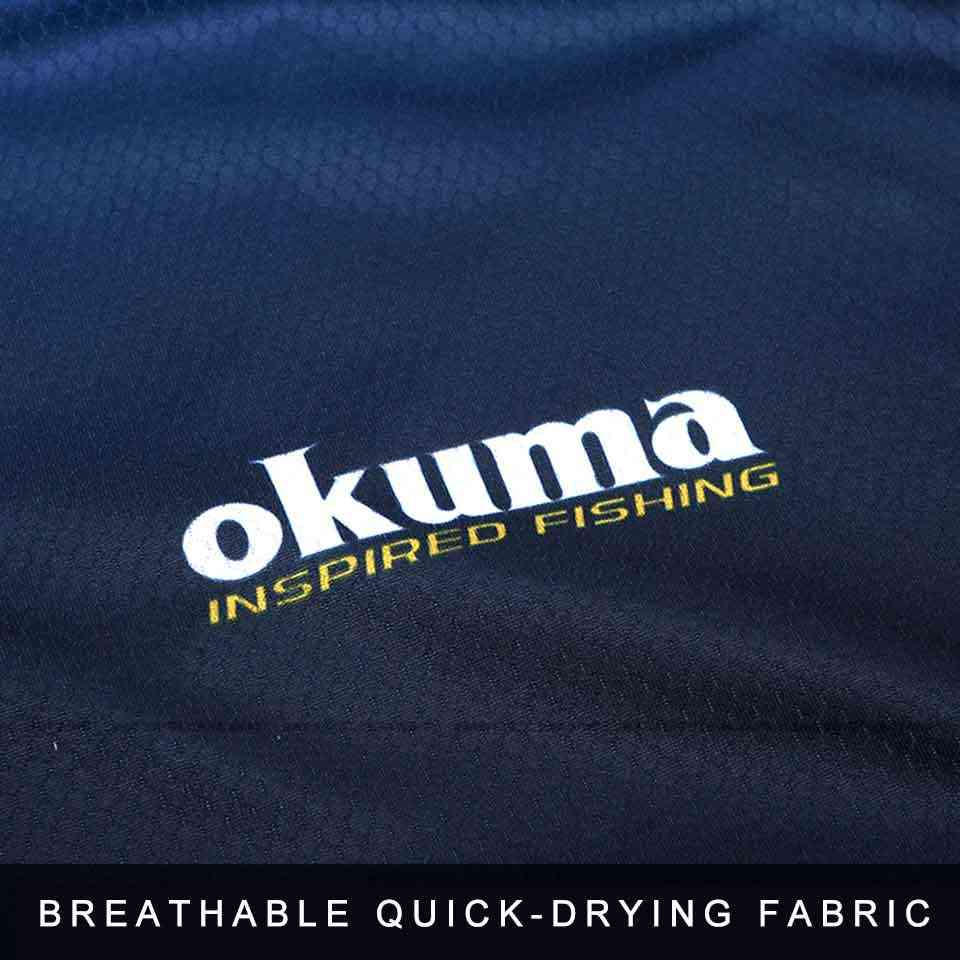 Original okuma roupas de pesca camisa de pesca jerseys respirável absorção de suor protetor solar esporte ao ar livre