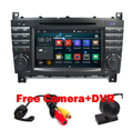 Free Shipping 7 inch 2 Din Car DVD Player for Mercedes-Benz W203 Android 5.1 GPS Navigation Quad Core WifI 3G Bluetooth Canbus