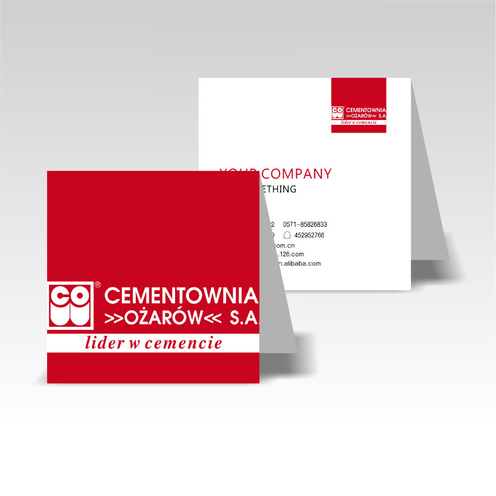 popular folded business card printing cheap folded business